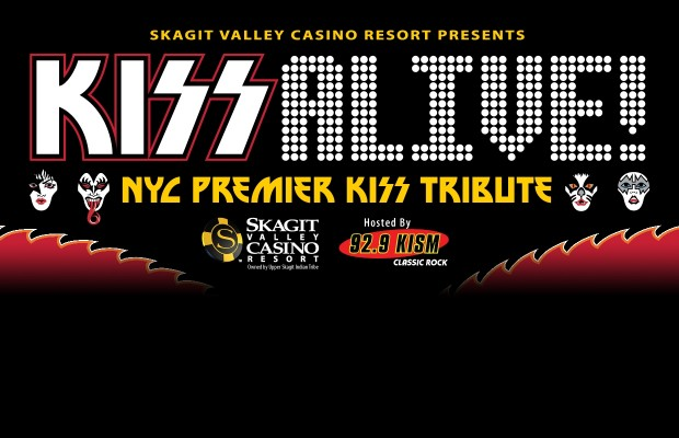 KISS Alive at the Skagit