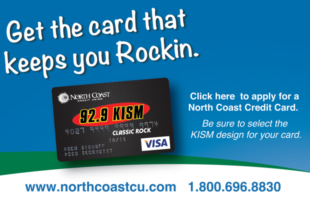 The North Coast Credit Union KISM Card